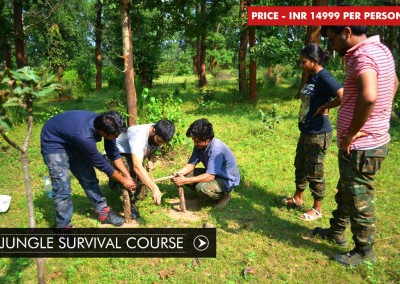 JUNGLE SURVIVAL COURSE