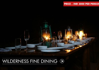 WILDERNESS FINE DINING IN BANDHAVGARH